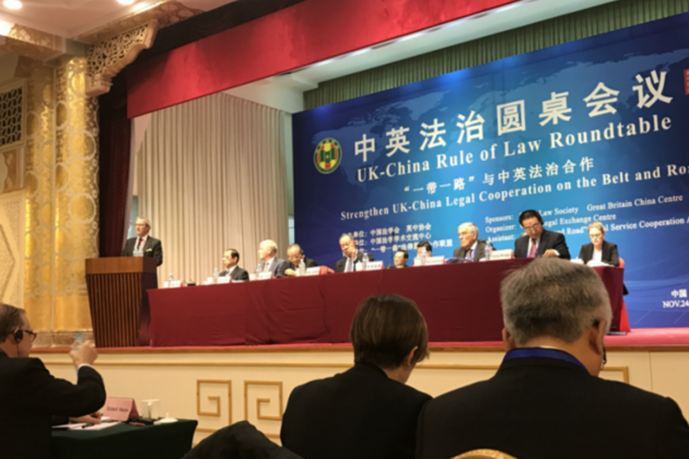 Advocate General's visit to China