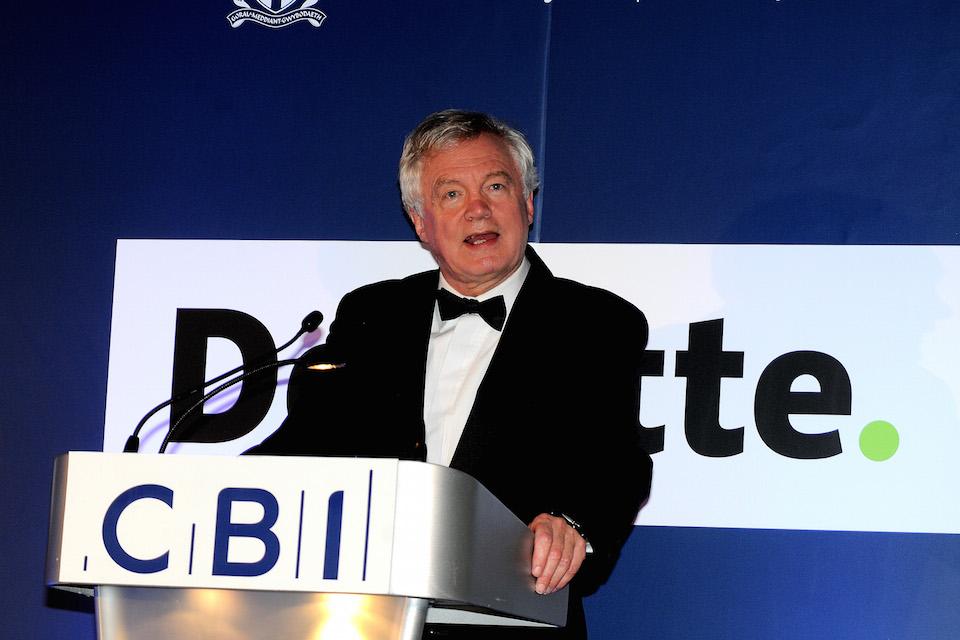 CBI Wales Annual Dinner Speech