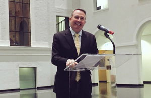 International Trade Secretary Liam Fox at the WTO