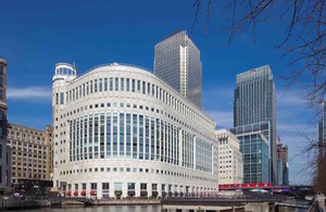 canary wharf civil service hub