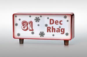 calendar with 31 December