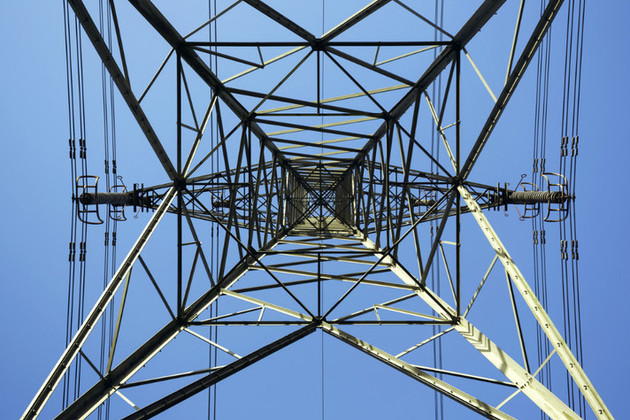Close up of a pylon