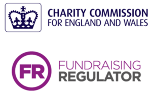Charity Commission and Fundraising regulator logo