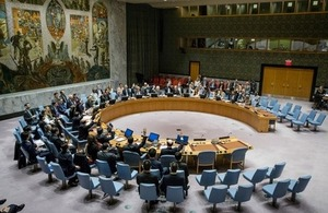 UN Security Council Meeting on DPRK