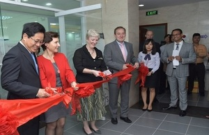Official opening of the new Visa Application Center in Danang