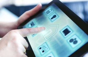 A smart tablet adapted to be used for housing features like heating