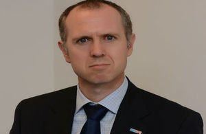Graham Zebedee, British ambassador to DRC