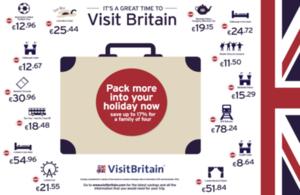 Gran Bretaña ofrece los mejores precios de la historia para el turista español