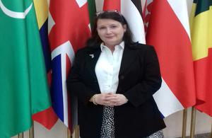 HM Ambassador Miss Thorda Abbot-Watt