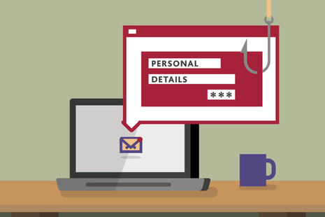 Read the Avoid and report internet scams and phishing article