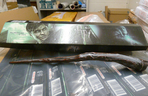 Harry Potter fake wands