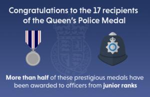 Queen's Police Medals