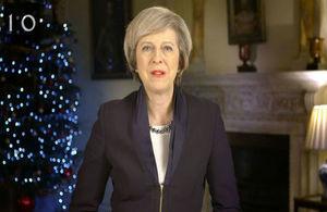 Read 'Neujahr 2017: Botschaft der Premierministerin'