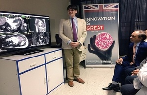 The British Embassy helps Peruvian doctors detect heart diseases in just 25 minutes