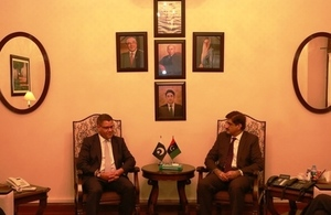 Alok Sharma visit underlines UK commitment to trade with Pakistan