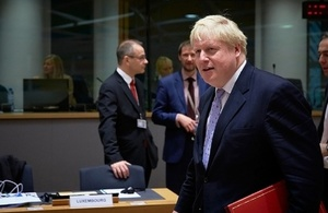 Read the Foreign Secretary attends EU Foreign Affairs Council article