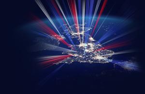 UK map photo.