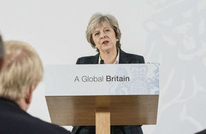 Read  'The government's negotiating objectives for exiting the EU: PM speech' article