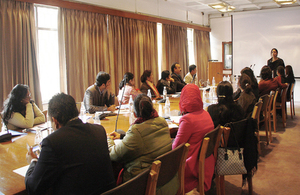 Roundtable in Delhi'