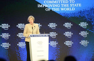 Davos 2017: Prime Minister's speech to the World Economic Forum