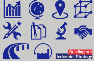 Industrial Strategy icons