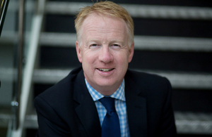 Image of HS2's new Chief Executive, Mark Thurston