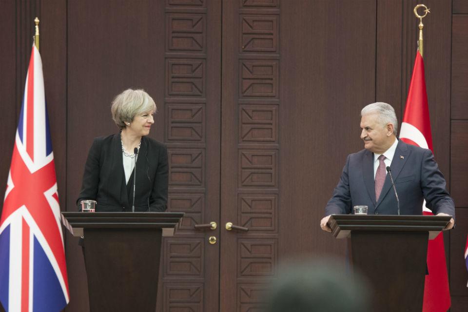 PM press conference with Turkish PM Yildirim: 28 January 2017