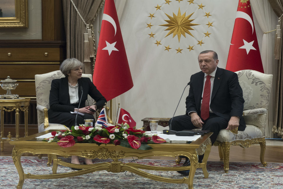 PM statement following talks with President Erdogan: 28 January 2017
