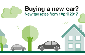 New vehicle tax rates from 1 April 2017