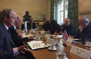 El Embajador Kent inició una visita al Reino Unido junto con legisladores argentinos