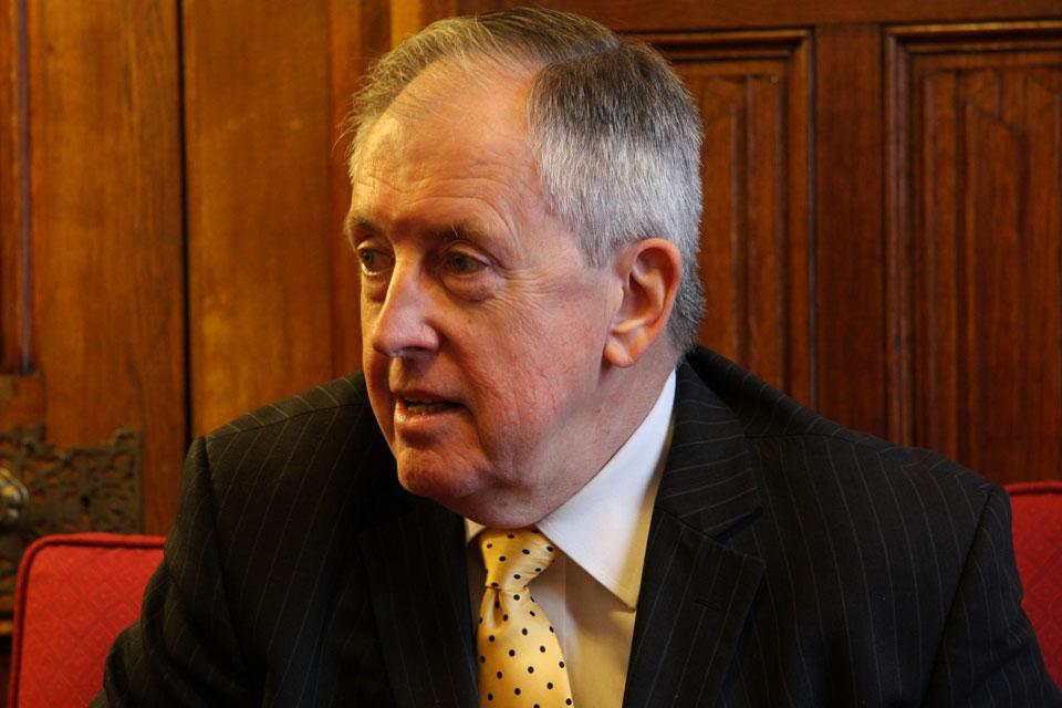 Lord McNally, Chairman YJB