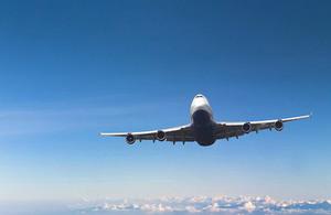 747 passenger airplane.