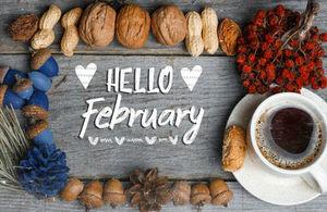 Hello February image.