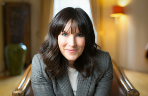 TV presenter Anna Richardson
