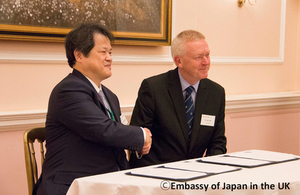 New UK-Japan collaboration on medical research and development