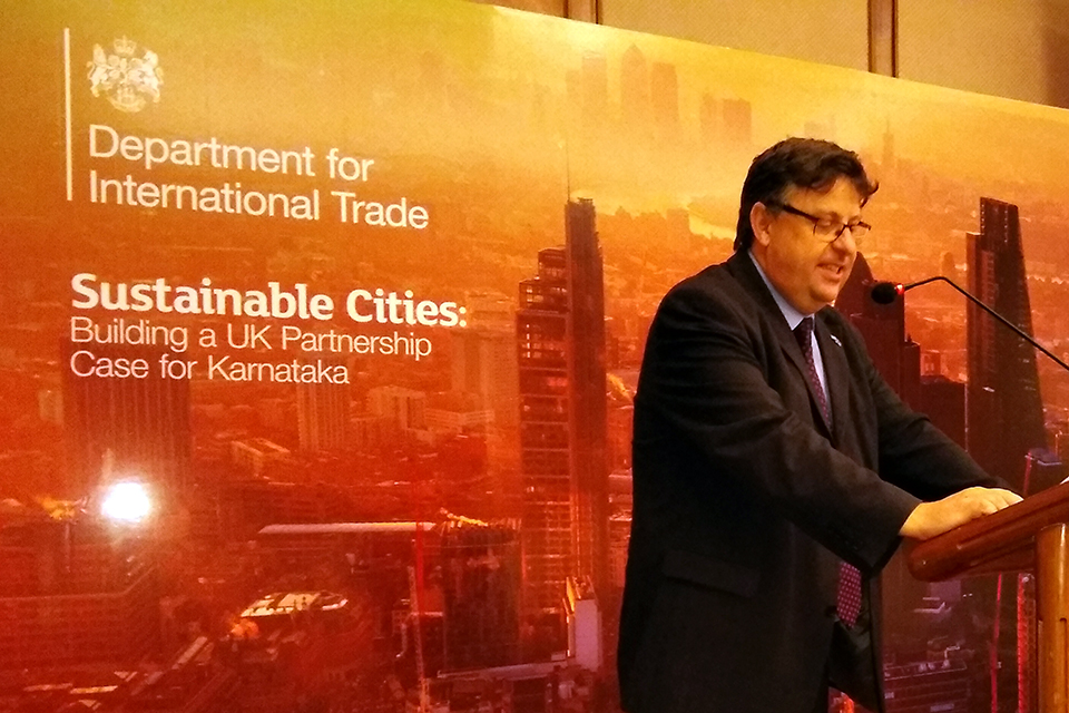 Sustainable cities Roundtable in Bengaluru