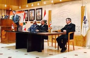 Twinning between the Police Service of Northern Ireland (PSNI) and the Lebanese Internal Security Forces (ISF)