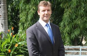 HMA Designate Simon Shercliff