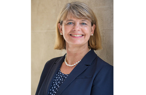 UK Defence Minister Harriett Baldwin