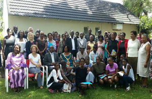 "Participants of the ""1st National Dialogue on Harmful Cultural Practices in Zambesi Region"""