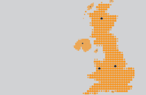 UK House Price Index map