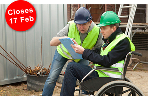 Consultation closes 17 February: Work, health and disability: improving lives