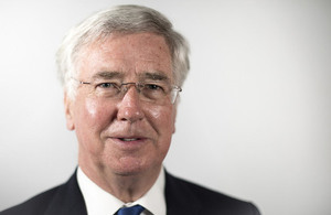 Defence Secretary, Michael Fallon