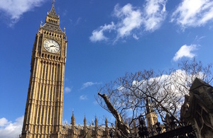 Picture of the Big Ben in London