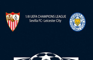 EFA Champions League Sevilla FC v Leicester City FC travel advice