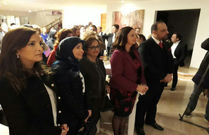 Ambassador Shorter hosts 'Women in Politics' reception
