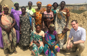 Read the 'Minister Wharton emphasises need for peace in South Sudan' article