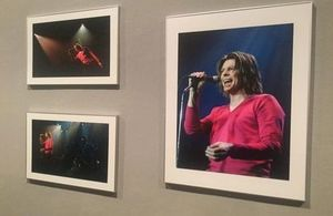 """David Bowie by Brian Rašić"" exhibition in Zagreb"