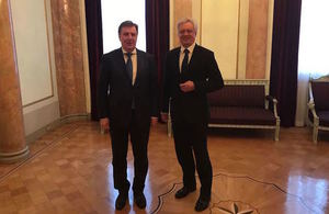 The UK post-Brexit: a stronger and even closer ally to Latvia' within 'Department for Exiting the European Union