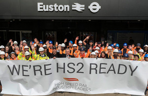 Full speed ahead as HS2 gets Royal Assent.